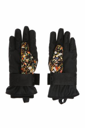 Floral motif gloves od Dsquared2